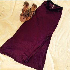 Free people maxi skirt size medium